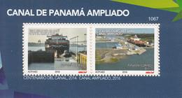 2018 Panama Canal Widening Ships  Souvenir Sheet  MNH - Panama