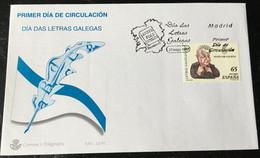 España Spain 1997 Dia De Las Letras Gallegas - FDC