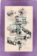 54 Souvenir De NANCY Multivues  Modèle N° 5  Éditeur Pas Courant De Nancy à Identifier Par Son Logo - Nancy