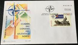 España Spain 1997 Cumbre Del Consejo Del Atlantico Norte. - FDC