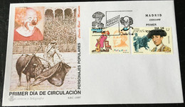 España Spain 1997 Personajes Populares. - FDC