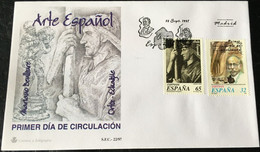 España Spain 1997 Arte Español. - FDC