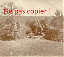 PHOTO ALLEMANDE KB IR 14 - FLAK CANON CONTRE AVIONS A APREMONT LA FORET PRES DE SAINT MIHIEL MEUSE GUERRE 1914 - 1918 - 1914-18