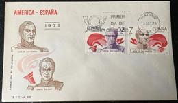 España Spain 1978 America España - FDC