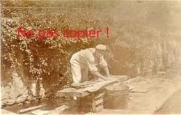 PHOTO ALLEMANDE KB IR 14 - SOLDAT A LA LESSIVE A APREMONT LA FORET PRES DE SAINT MIHIEL MEUSE GUERRE 1914 - 1918 - 1914-18