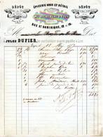 Fabrique De Chocolats, Elixir Et Liqueurs -  Mon RICHE Père & Fils - Paris-Bruxelles-Lyon - 1857 - 1800 – 1899