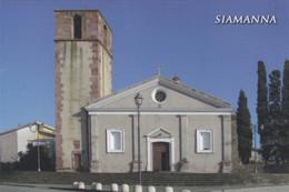 (P563) - SIAMANNA (Oristano) - Parrocchia Di Santa Lucia - Oristano
