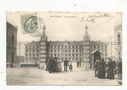 Cp, Militaria , Caserne GUDIN , 45 ,MONTARGIS , Voyagée 1906 - Caserme