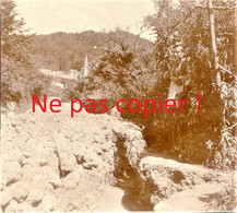 PHOTO ALLEMANDE KB IR 14 - UNE TRANCHEE A APREMONT LA FORET PRES DE SAINT MIHIEL MEUSE GUERRE 1914 - 1918 - 1914-18