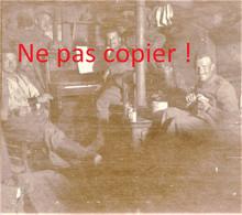 PHOTO ALLEMANDE KB IR 14 - SOLDATS ET PIANO DANS UNE DE CAVE A APREMONT LA FORET PRES SAINT MIHIEL MEUSE 1914 - 1918 - 1914-18