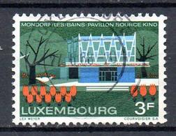 LUXEMBOURG. N°723 De 1968 Oblitéré. Thermalisme à Mondorf-les-Bains. - Termalismo