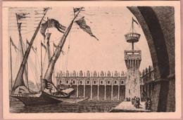 Cartolina Prima Mostra Triennale Delle Italiane D' Oltremare Napoli - Viaggiata - Advertising