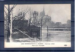 75. Paris. Inondations De Janvier 1910. Pont De La Tournelle - De Overstroming Van 1910