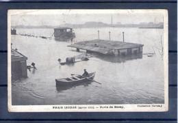 75. Paris. Inondations De Janvier 1910. Porte De Bercy - De Overstroming Van 1910