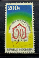 Indonesia  - 1992. - Non Alligned Movement   - Used. ( D) Condition As Per Scan - Indonesien