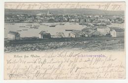 Vadsø Old Postcard Posted 1900 B210710 - Noruega