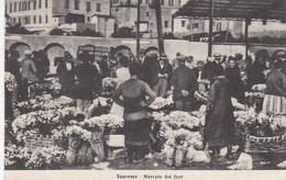 SANREMO-IMPERIA-MERCATO DEI FIORI-CARTOLINA VIAGGIATA IL 11-8-1933 - Imperia