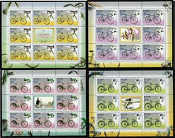 RUSSIE/RUSSIA/RUSSLAND/ROSJA2008 MI.1518-21**,ZAG.1286-89,YVERT.7081-84..Historical Bicycles MNH ** - Unused Stamps