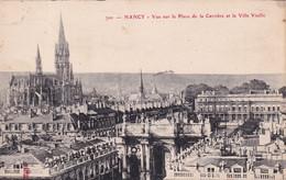 A11848 -PLACE DE LA CARRIERE ET LA VILLE VIEILLE CATHEDRALE ARCHIECTURE NANCY MEURTHE ET MOSELLE FRANCE USED POSTCARD - Nancy
