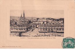 A11852-L'HOTEL DE VILLE, VUE PANORAMIQUE, CATHEDRALE NANCY, MEURTHE ET MOSELLE, 1909 USED STAMP VINTAGE FRANCE POSTCARD - Nancy