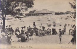 Royan La Plage    Carte Postale Animee 1918 - Royan