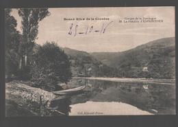 Gorges De La Dordogne - La Pescière D'Espontour - 1916 - Other Municipalities