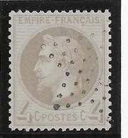 France N°27B - Oblitéré - TB - 1863-1870 Napoleone III Con Gli Allori