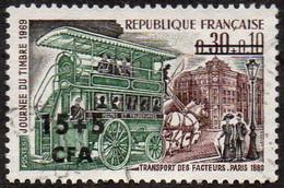 Réunion Obl. N° 383 Journée Du Timbre 69 - Omnibus De Transport Des Facteurs En 1890 - Gebruikt