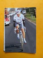 Eddy Seigneur La Française Des Jeux 1997 Carte Collée Doublé - Cycling