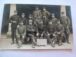 Carte Photo Groupe De Soldats Du 152ème Régiment D'infanterie - 1914-18