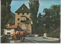 GLORENZA, La Porta Sluderno, GLURNS; Das Schludernser Tor - Andere Städte