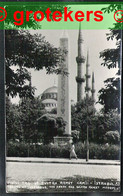 ISTANBUL Obelisk Of Theodosius The Great And Sultan Ahmed Mosque (1953) Sent 1958 - Turchia