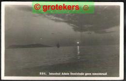 ISTANBUL Adale Denizinde Gece Manzarasi ± 1930 Clair De Lune - Turchia