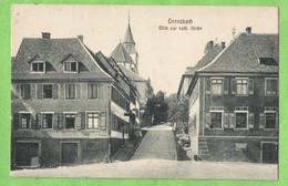 A160  Postkarte   GERNSBACH (Bade-Wurtemberg)  Blick Zur Kath. Kirche  ++++ - Gernsbach