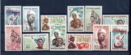 W-21 Dahomey N° 181 à 190  ** . A Saisir  !!! - Benin – Dahomey (1960-...)