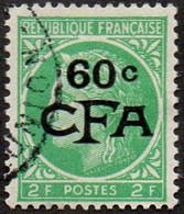 Réunion Obl. N° 286 - Cérès De Mazelin 60/2fr - Gebruikt