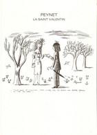 France 1985 - Peynet - La St Valentin - 2 X 2354 + épreuve -  Oblitérations Ier Jour - St Amour (39) - St Valentin (36) - Documents Of Postal Services