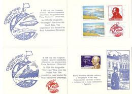 Explorateurs - R. Amundsen - Petit Lot De 2 Feuillets - Musée Arctique & Antarctique - St Petersbourg - YT 3854/5601 MNH - Explorers