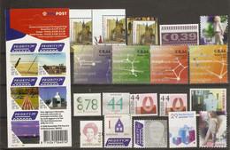 Pays-Bas  - Petit Lot De 24  Timbres - 1 Carnet (5) 2006 MNH -  19 Neufs Sans Gommes / New Without Glue - Unused Stamps