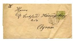Austria Postal Stationery Wrapper Posted 1907 B210725 - Ganzsachen