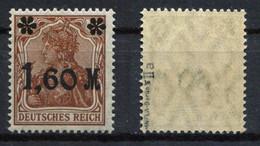 D. Reich Michel-Nr. 154IIa Postfrisch - Geprüft - Nuevos