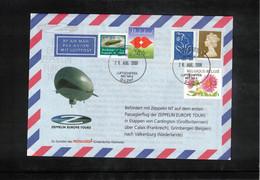 Great Britain 2008 Zeppelin NT Europe Tours From Cardington To Valkenburg (Netherlands) - Zeppelins
