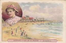 (27)    Chromos (10x7 Cms) Littoral Et Iles De La France - ARCACHON - Non Classificati