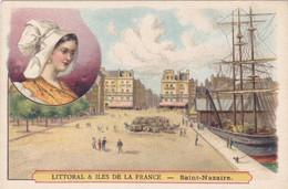 (27)    Chromos (10x7 Cms) Littoral Et Iles De La France -  SAINT NAZAIRE - Non Classificati