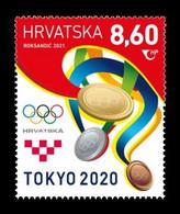 Croatia 2021 Mih. 1535 Olympic Games In Tokyo MNH ** - Croatie