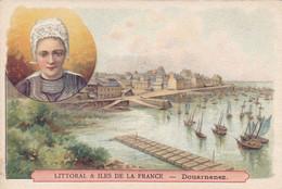 (27)    Chromos (10x7 Cms) Littoral Et Iles De La France -  DOUARNENEZ - Non Classificati