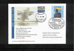 Germany / Deutschland 2009 Zeppelin NT - 100th Anniversary Of The ILA Fair Frankfurt - Zeppelins
