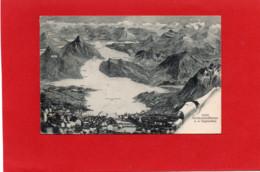 SUISSE---Vierwaldtüttersee A.D. Vogelschau--voir 2 Scans - LU Lucerne