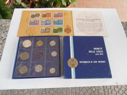 San Marino 1972 Divisionale Con Libretto Francobolli - Saint-Marin