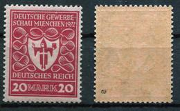D. Reich Michel-Nr. 204a Postfrisch - Geprüft - Nuevos